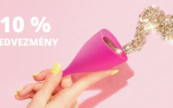 Intimina menstruációs kehely 10% kedvezmény