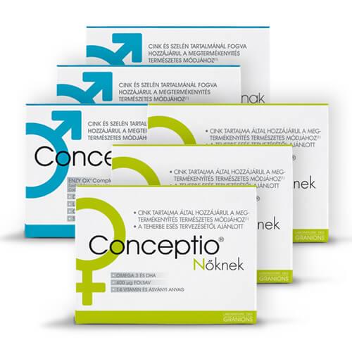 Conceptio babatervező vitamincsomag Nőknek és Férfiaknak